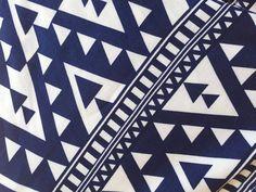 Bohemian Blue and White Dog Bandana Tribal Dog Bandana Tie