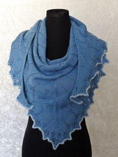 3a9c862f5b57 Knitting pattern shawl Nenya - Knitting Patterns at Makerist Knitting  Patterns