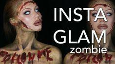 InstaGlam Zombie Makeup Tutorial (Part 2 of InstaGlam) (CC)