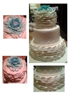 Mariage blanc et bleu - Wedding Planner - www.cdeuxlor.com https://www.facebook.com/pages/C-Deux-Lor/291731146540?ref=ts