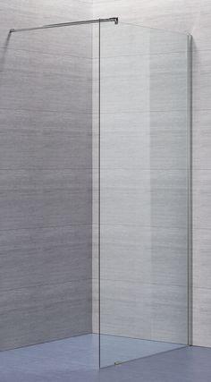 Lusso fast duschvägg med klart glas | Alterna badrum