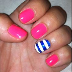 I like the idea of this, but with red instead of pink for 4th of July!