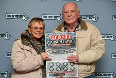 Four months after his wife won $1 million in the Publishers Clearing House sweepstakes, Robert Goodwin of Randolph has won a $1 million jackpot of