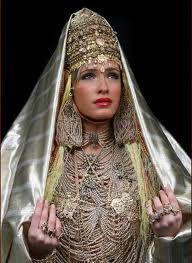 Vestito da sposa Algerino