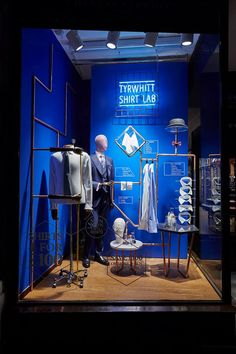 "CHARLES TYRWHITT, London, UK, ""Shirt Lab"", creative by Harlequin Design, pinned by Ton van der Veer"