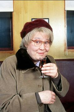 Scots actress Jane McGarry in her regular role as gossiping Isa in Still Game (Photo: BBC) Still Game, Be Still, Scotland Tours, British Comedy, Last Episode, Comedy Show, Laughter, Tv Shows, Actresses