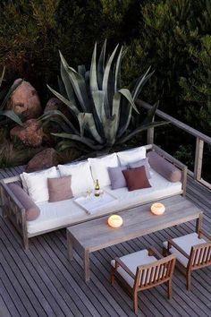 Rincones de exterior para relajarse al aire libre