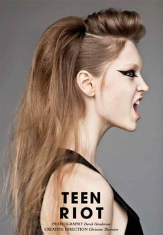 punk rock hairstyles for long hair prom Up Hairstyles, Wedding Hairstyles, Punk Rock Hairstyles, Faux Hawk Hairstyles, Hairstyle Ideas, Pelo Afro, About Hair, Hair Dos, Dreads