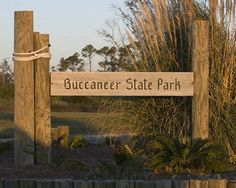 Buccaneer State Park – Waveland | Best Camping Sites in Mississippi - Camp for Free or bring an RV , check it out at http://survivallife.com/best-campgrounds-in-mississippi/