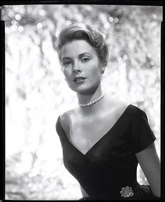 """""""2658-0086b"""" by AliceJapan on Flickr - Black and white camera negatives were used to reproduce this photo of Grace Kelly from 'Rear Window'.  Photo by Bud Fraker"""