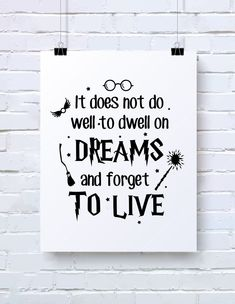 It Does Not Do Well To Dwell On Dreams And Forget To Live, Wizard svg, svg file for cricut, Magic Wand svg by ArtEssentialSVG on Etsy