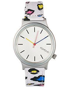 Komono 80s Leopard Watch