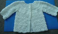 Free pattern  Ravelry: Cute Baby sweater pattern by Maru Minetto