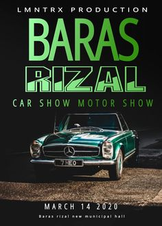 Car show alert! Show Must Go On, Car Show, Philippines, To Go