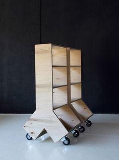 Amazing Bookshelf Design Idea 3