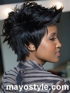 Short trendy hairstyles for women