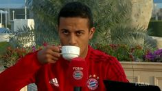 coffee drinking drink waiting bayern munich fc bayern fc bayern munich sip thiago thiago alcantara sipping sipping coffee trending #GIF on #Giphy via #IFTTT http://gph.is/2e8bjaK