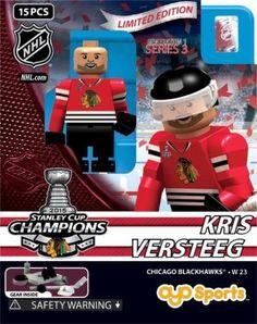 Kris Versteeg Stanley Cup Chicago Blackhawks NHL Minifigure Oyo Sports NIB