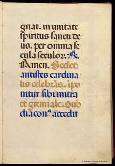 Rotunda.Missale. Iglesia Católica — Manuscrito — 1401-1600?