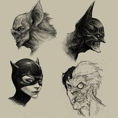Awesome Batman drawing.