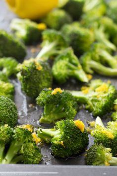 Broccoli Recipe | Lemon-roasted broccoli