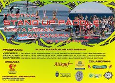 * * * Stand Up Paddle Festival Mogán * * *    Friday the 21st, Saturday the 22nd and Sunday the 23rd of August, you can enjoy and/or participate at the Stand Up Paddle Festival at Playa de las Marañuelas, Arguineguin (Mogán)     Read more: http://www.whatsoningrancanaria.com/stand-up-paddle-festival-mogan/    #SUP #standuppaddle #paddle #festival #activities #arguineguin #patalavaca #mogan #grancanaria #canaryislands #islascanarias #spain #españa