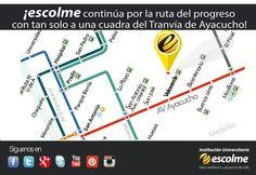 ¡No te pierdas la oportunidad de estudiar en ESCOLME y tener el tranvía más cerca de ti!