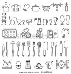 Baking Icon Vector Stock Photos, Images, & Pictures | Shutterstock