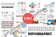 Business infographic : 32% OFF Business Infographic Bundle