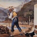 De Nederlandse slavenhandel in de 17e en 18e eeuw door de West Indische Compagnie.