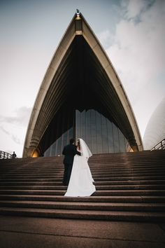 Bride & groom, Sydney Opera House