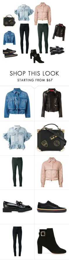 """""""Trendy Jackets..**"""" by yagna ❤ liked on Polyvore featuring Dolce&Gabbana, Gucci, MSGM, Aspinal of London, J Brand, STELLA McCARTNEY, Suecomma Bonnie, Vans, Off-White and Tila March"""