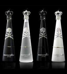 #Skull #bottles #design