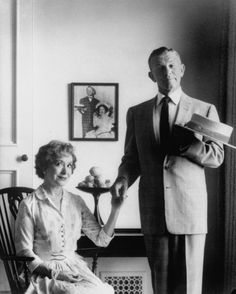 George Burns and Gracie Allen....vintage everyday: Portraits of Celebrities in the Fifties and Sixties by Allan Grant