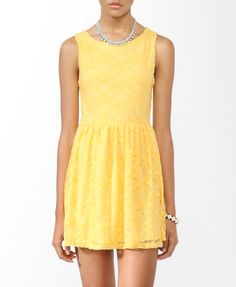 forever 21 again, i adore yellow