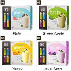 Yogurty flavors
