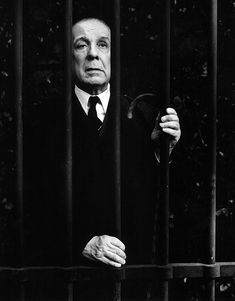 Argentinian novelist and poet Jorge Luis Borges (Jorge Francisco Isidoro Luis Borges KBE). Labyrinths, The Library of Babel