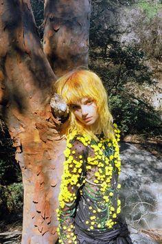 "Romance was Born Winter 15 ""Bush Magic"" --amazing. She looks like she's covered in pollen"