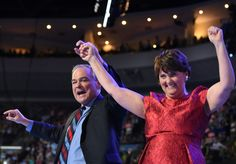 Democratic vice presidential candidate Time Kaine and his wife Anne Holton wave to the crowd following his address to delegates on Day 3 of the Democratic National Convention at the Wells Fargo Center, July 27, 2016 in Philadelphia, Pennsylvania.      / AFP / Robyn BECK        (Photo credit should read ROBYN BECK/AFP/Getty Images) via @AOL_Lifestyle Read more…