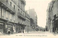 rue d'Auteuil - Paris 16ème Paris 1900, Images, Street View, Retro, Painting, France, Vintage, Movies, Actresses