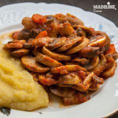 Tocanita de ciuperci / Mushroom stew - Madeline's Cuisine