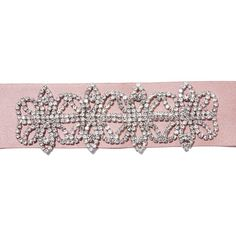All That Glam Satiny Rhinestone Choker (€7,72) ❤ liked on Polyvore featuring jewelry, necklaces, punk rock jewelry, punk necklace, pink necklace, rhinestone choker and pink rhinestone jewelry