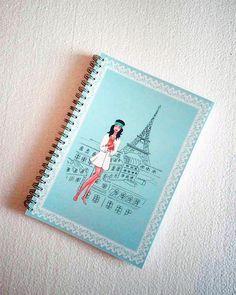 Audrey Hepburn lined silver spiral notebook Holly Golightly Holly Golightly, Cute Notebooks, Lined Notebook, Cello, Audrey Hepburn, Spiral, Etsy Seller, Canada, Wall Art