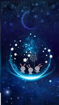 Ideas wallpaper cute kawaii galaxies for 2020 Cute Disney Wallpaper, Cute Cartoon Wallpapers, Kawaii Wallpaper, Cute Wallpaper Backgrounds, Pretty Wallpapers, Trendy Wallpaper, Wallpaper Iphone Cute, Galaxy Wallpaper, Cool Wallpaper