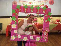 Strawberry shortcake photo frame