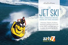#DidYouKnow: The jet ski was created in the desert! Visit http://www.aztv.com/ for all things #AZ!
