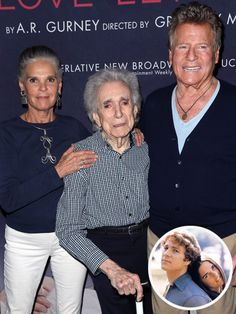 A Love Story Reunion! Director Arthur Hiller Surprises Ali MacGraw and Ryan O'Neal at the Opening of Their Play in Beverly Hills