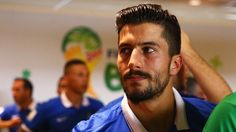 Midfielder Panagiotis Kone speaks to FIFA about the disappointment of Greece's loss to Colombia, their scoring problems and upcoming game against Japan, and his FIFA World Cup memories. World Cup 2014, Fifa World Cup, Dream Boyfriend, Greek Culture, Attractive Men, Football Players, My Man, Athlete, Greece