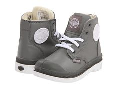 Palladium Kids Pampa Hi Lace Leather (Infant/Toddler)