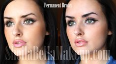Abigail Ratchford's Eyebrow Transformation : Sheila Bella Permanent Makeup and Microblading How To Apply Makeup, Applying Makeup, Perfect Brows, Eyebrow Tattoo, Permanent Makeup, Natural Looks, Wasting Time, Makeup Tips